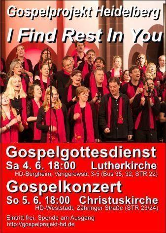 Gospelkonzert, Konzert, Hedielberg, Baden-Württemberg
