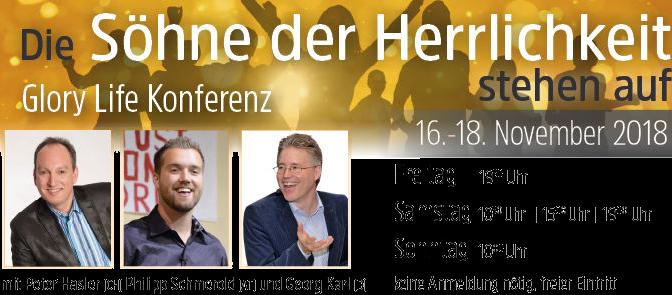Söhne der Herrlichkeit, Konferenz, Filderstadt, Baden