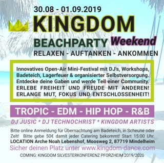 KINGDOM Beach Party 2019, Party, Mindelheim, Bayern