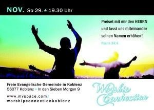 WORSHIP CONNECTION, Konzert, Koblenz, Rheinland-Pfalz