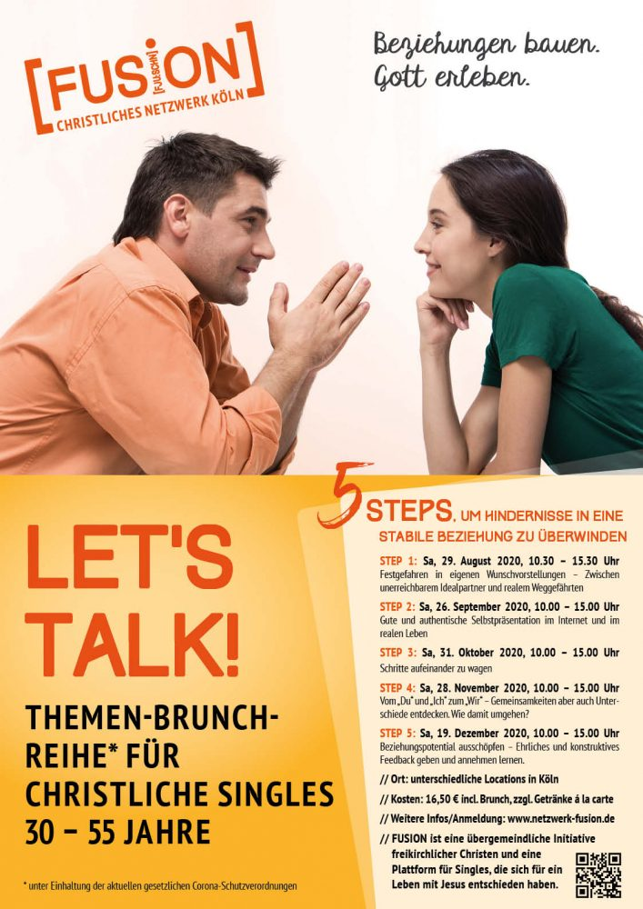 Themenbrunch Let's talk! - Seminar - Köln Ehrenfeld